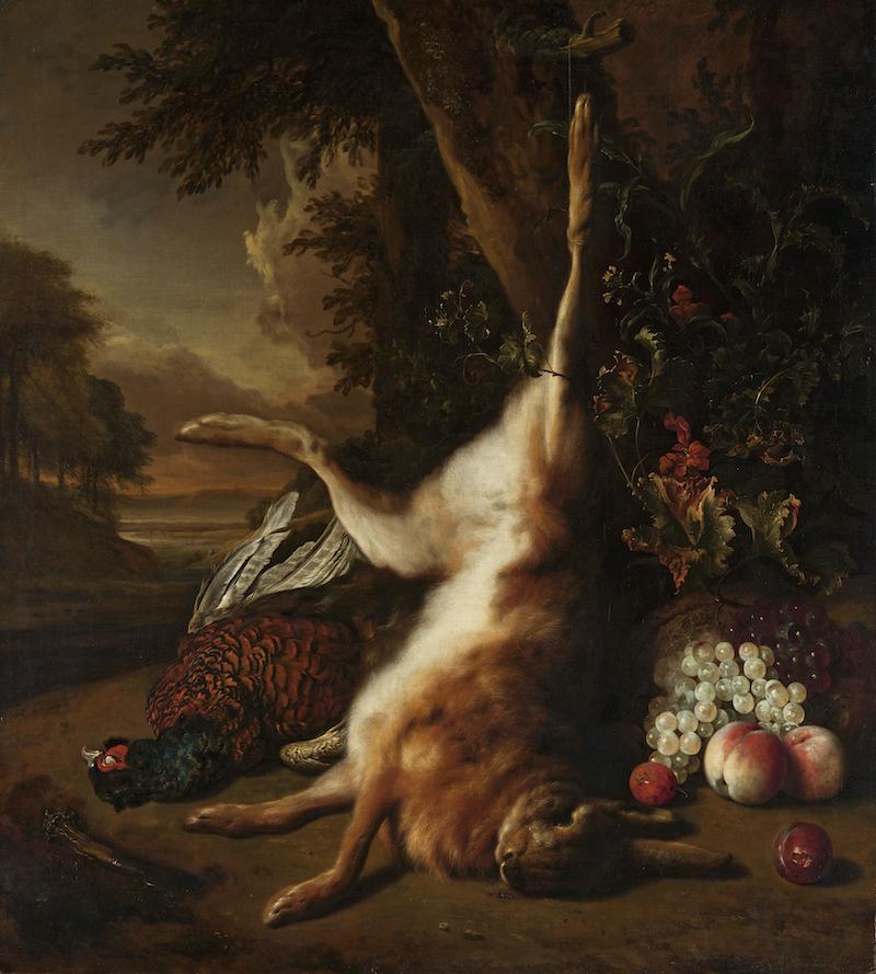 Jan Weenix's - Dead Game and Fruit