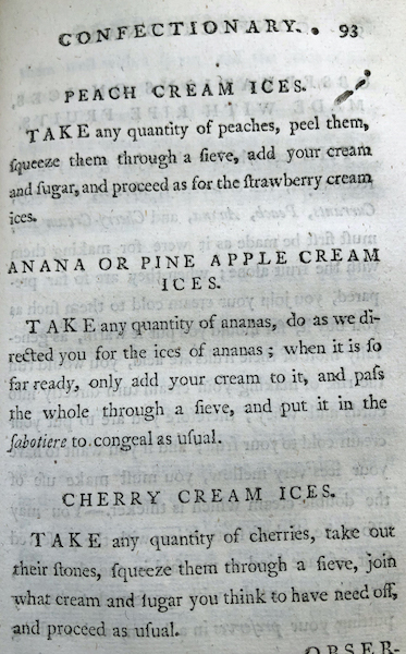 Recipe for Anana or pineapple ice cream