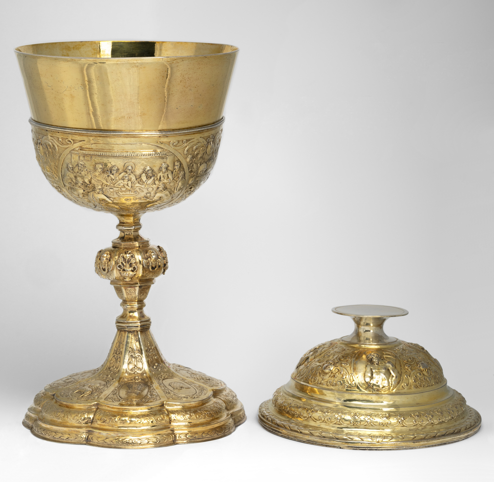 Ciborium with The Fall of Manna